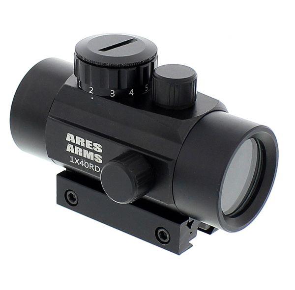 Ares Arms Zieloptik Red Dot 1 x 40für 11 mm + Picatinnyschiene