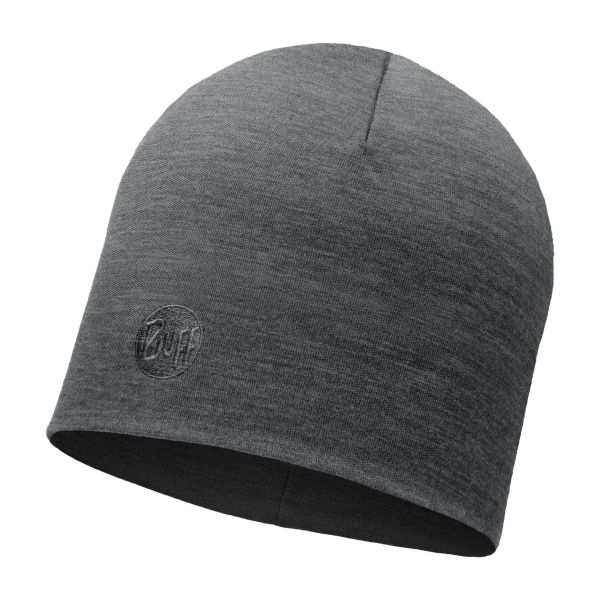 Buff Cap Merino thermal grau