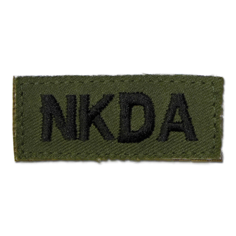 Textilabzeichen NKDA Klett oliv