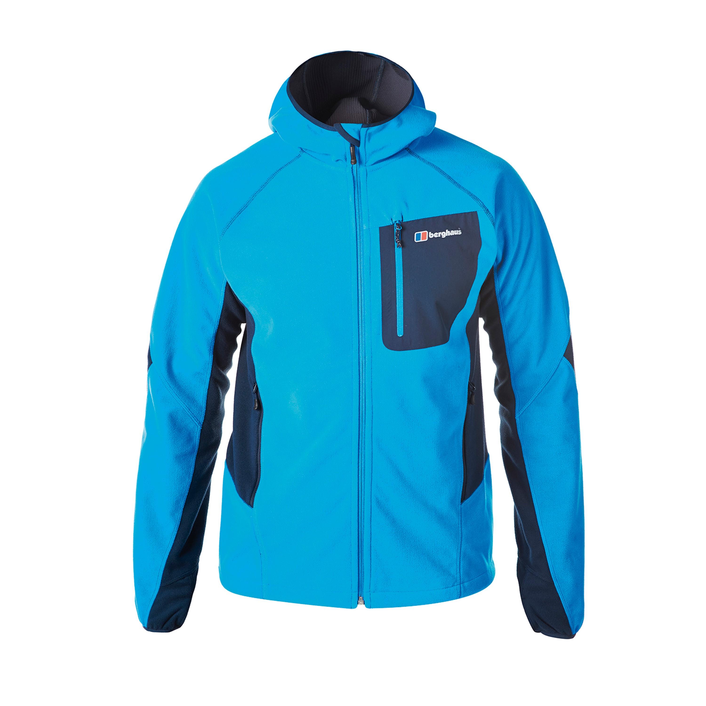 Jacke Berghaus Ben Oss Windproof Hooded blau