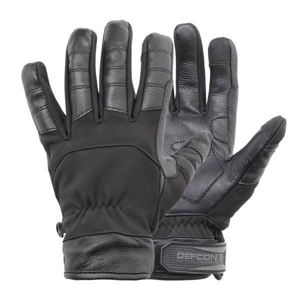 Defcon 5 Handschuhe Softshell schwarz