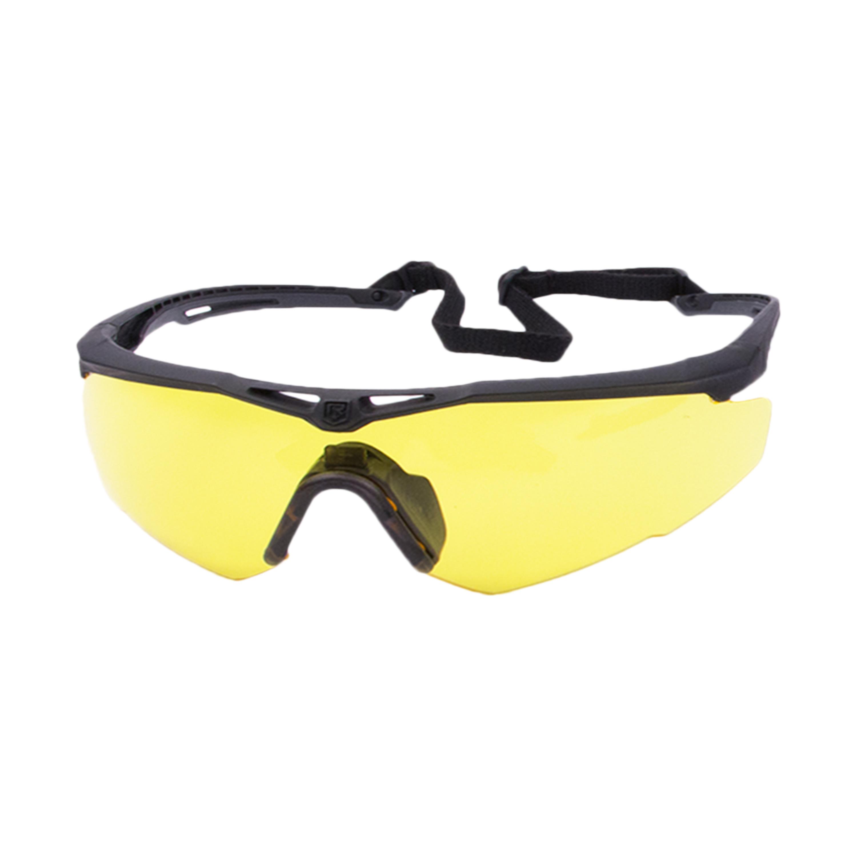 Revision Brille Stingerhawk Deluxe schwarz gelbes Glas