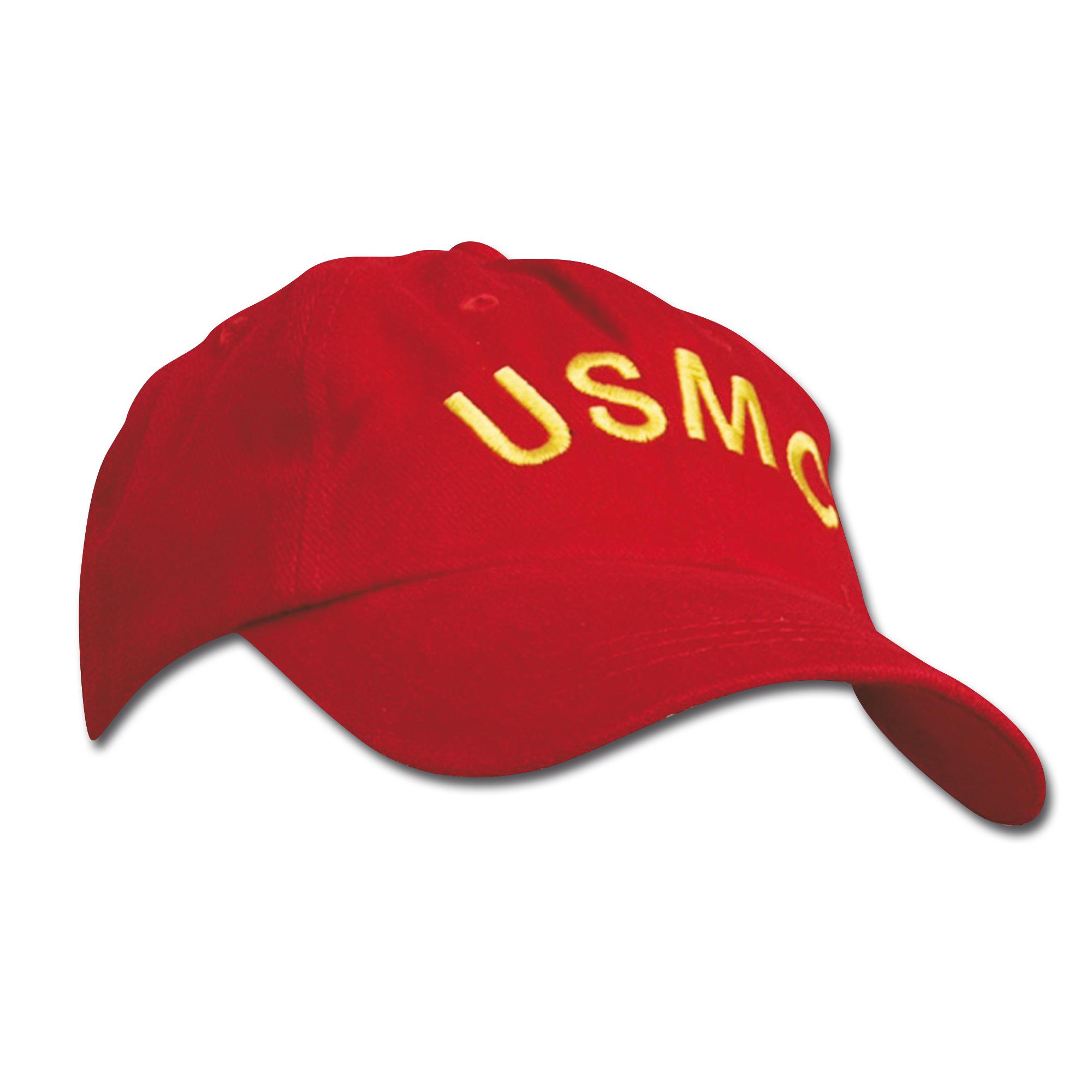 Baseball Cap USMC rot