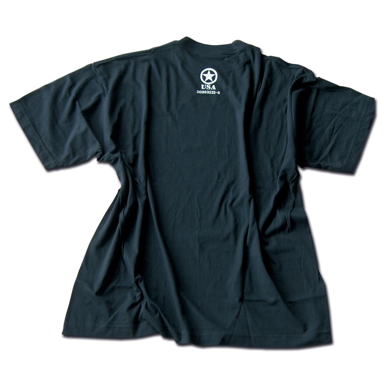 T-Shirt Allied Star schwarz