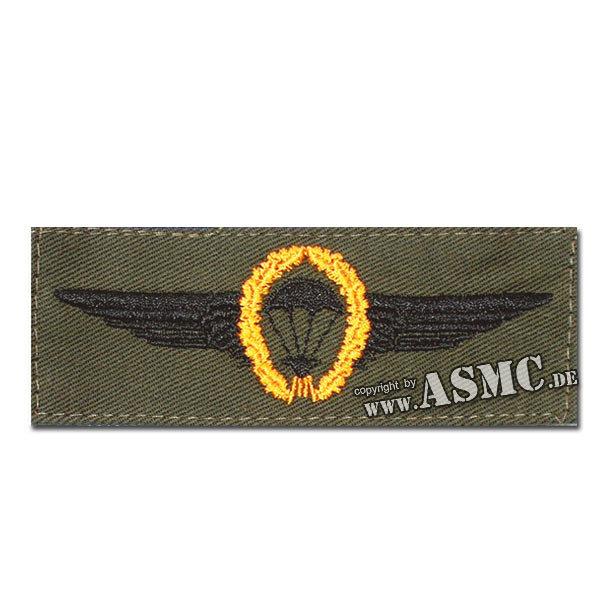 Abz. BW Fallschirmspringer gold/oliv