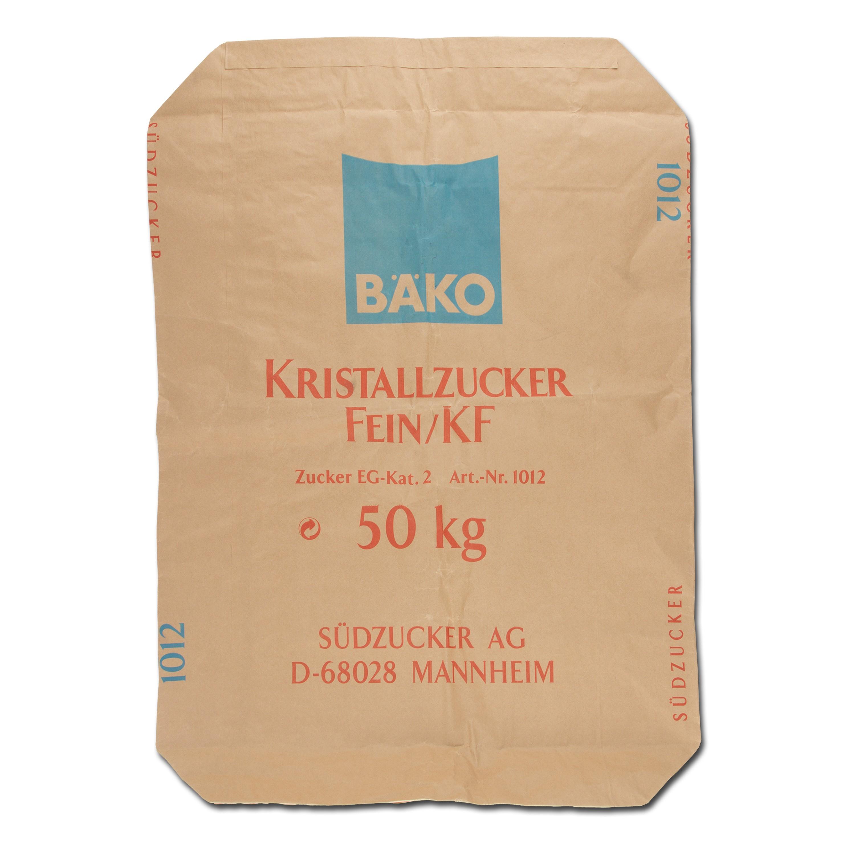 Papiersack Kristallzucker 50 kg neuwertig