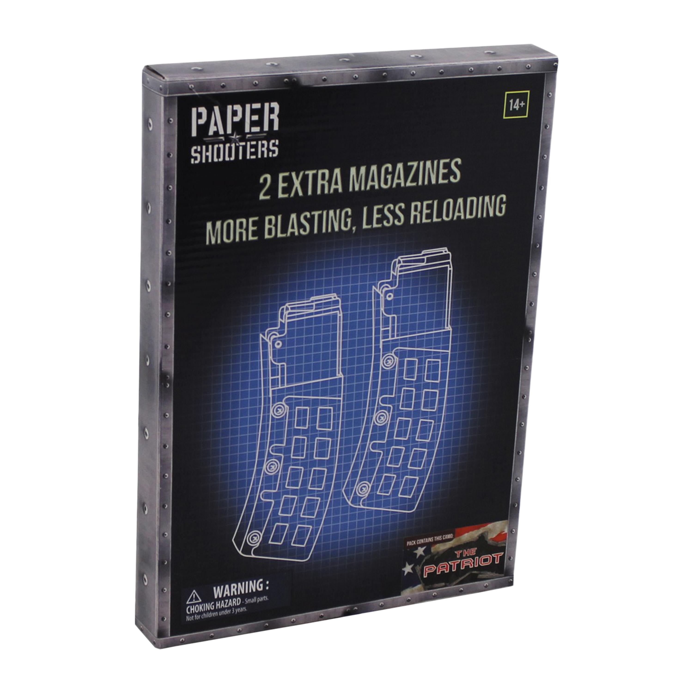 Paper Shooters Ersatzmagazin Tactician Patriot 2er Pack