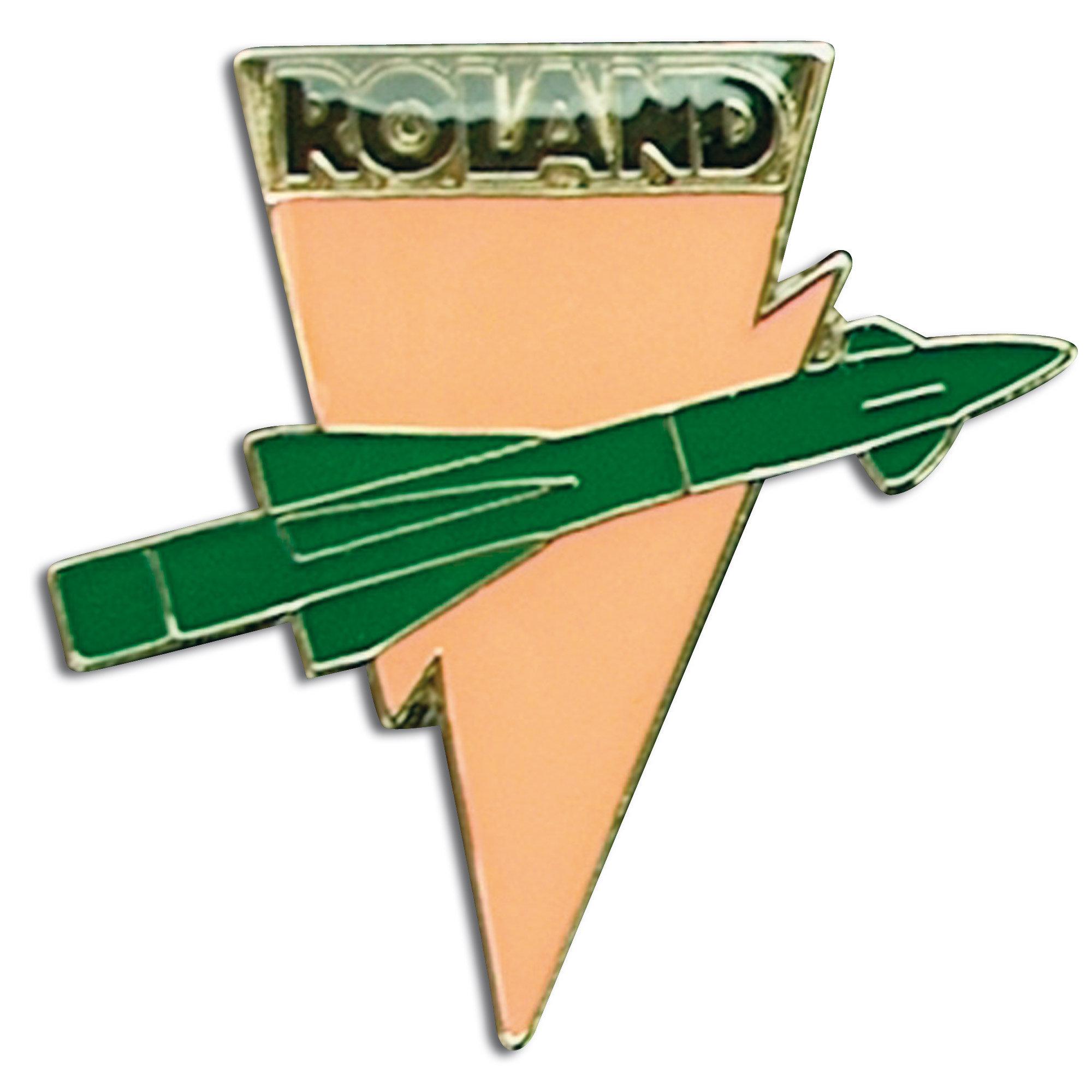 Pin Mini Metall Roland Rakete
