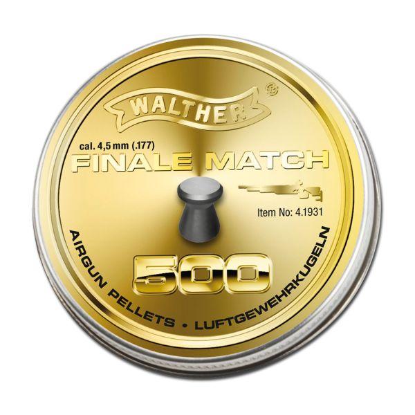 Walther Diabolos Finale Match Luftpistole 4.5 mm 500 St.