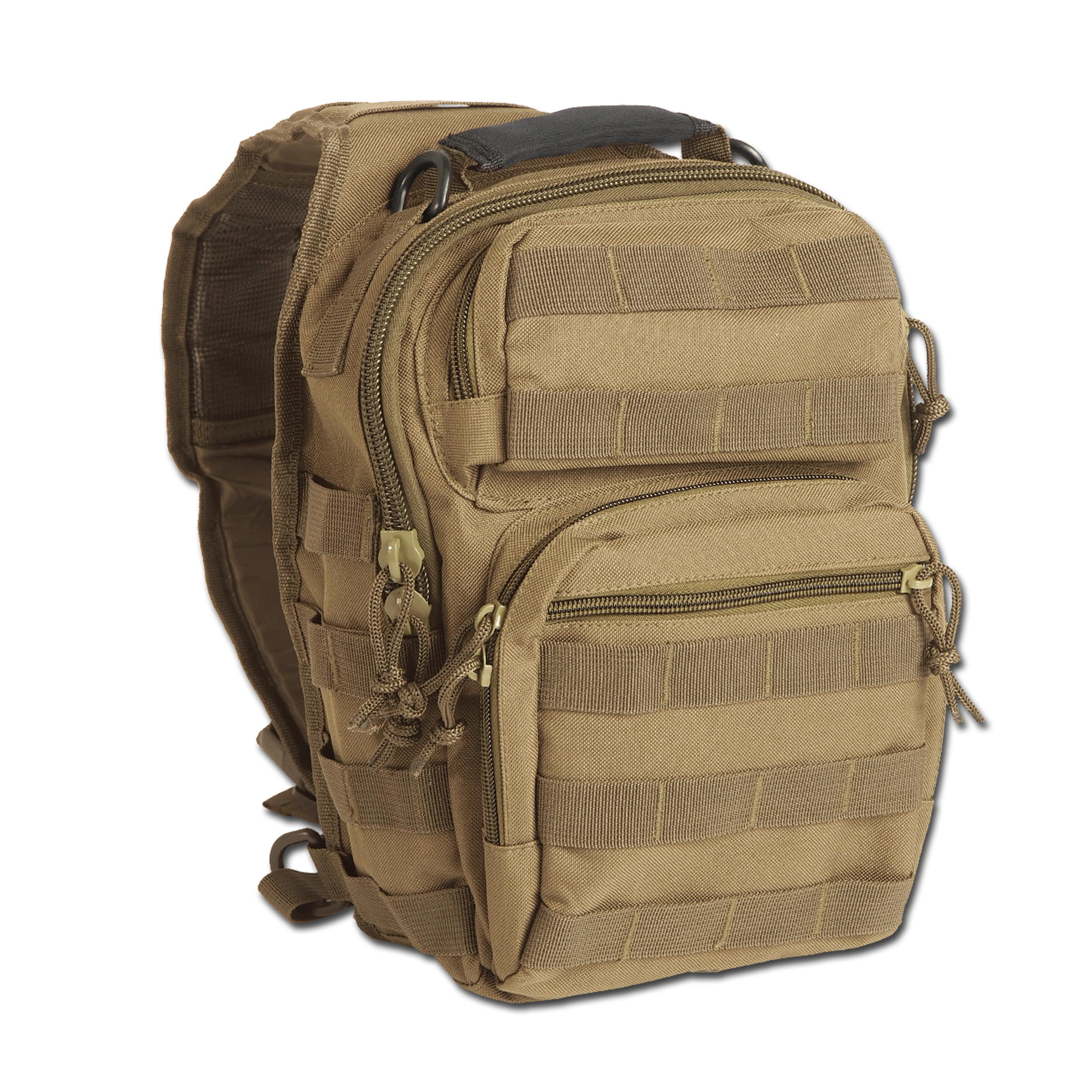 Rucksack Assault Pack One Strap Small coyote