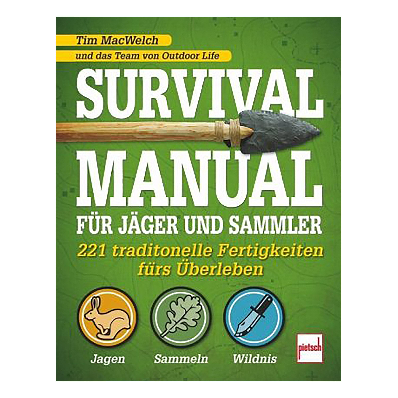 Buch Survival Manual für Jäger und Sammler