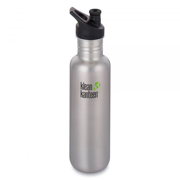 Klean Kanteen Trinkflasche Classic 800 ml brushed stainless