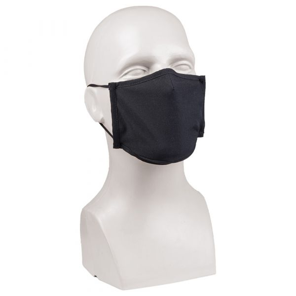 Mil-Tec Mund-Nasenbedeckung Square-Shape schwarz