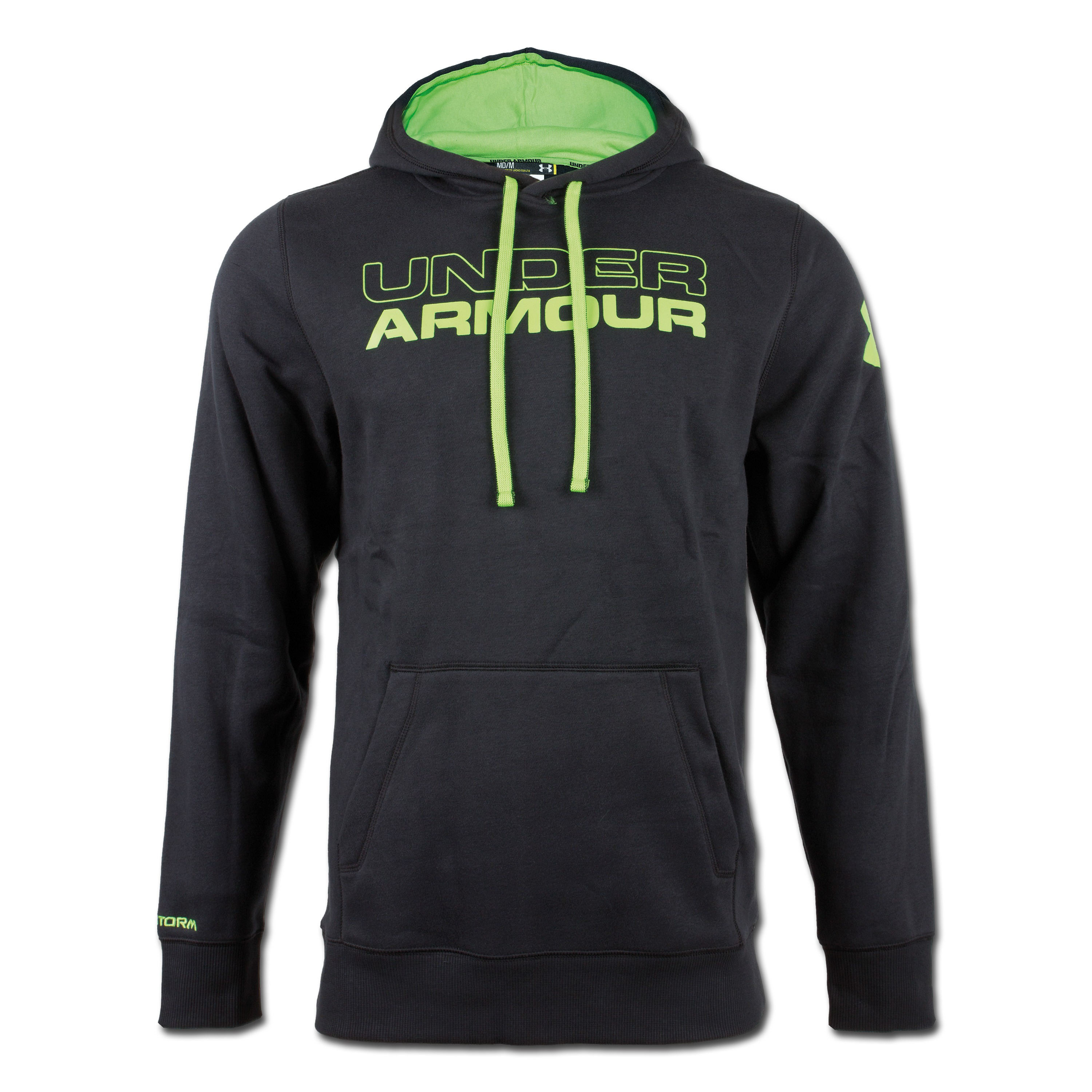 Under Armour Charged Cotton Storm Undisputed Hoody schwarz