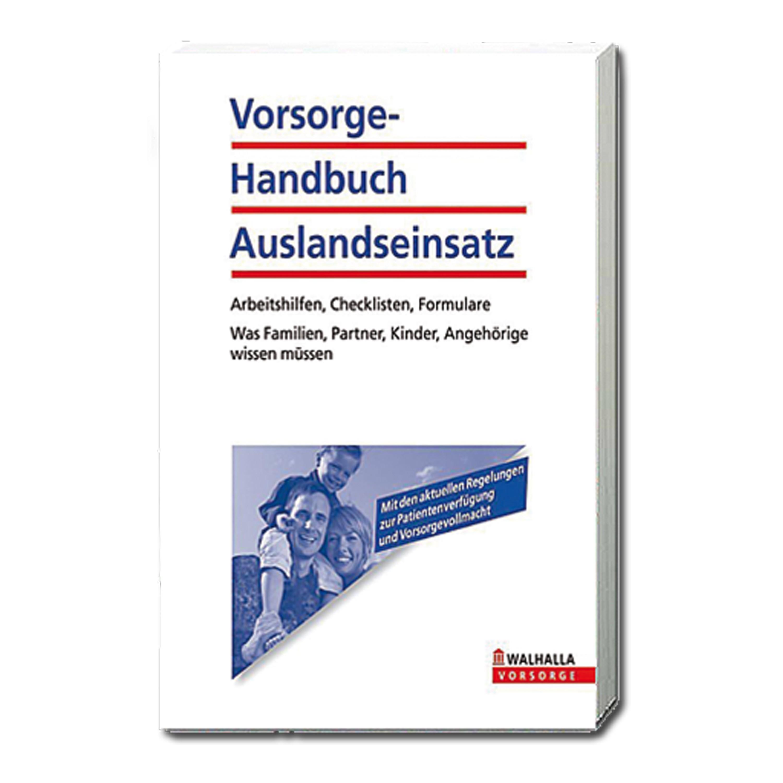 Buch Vorsorge-Handbuch Auslandseinsatz