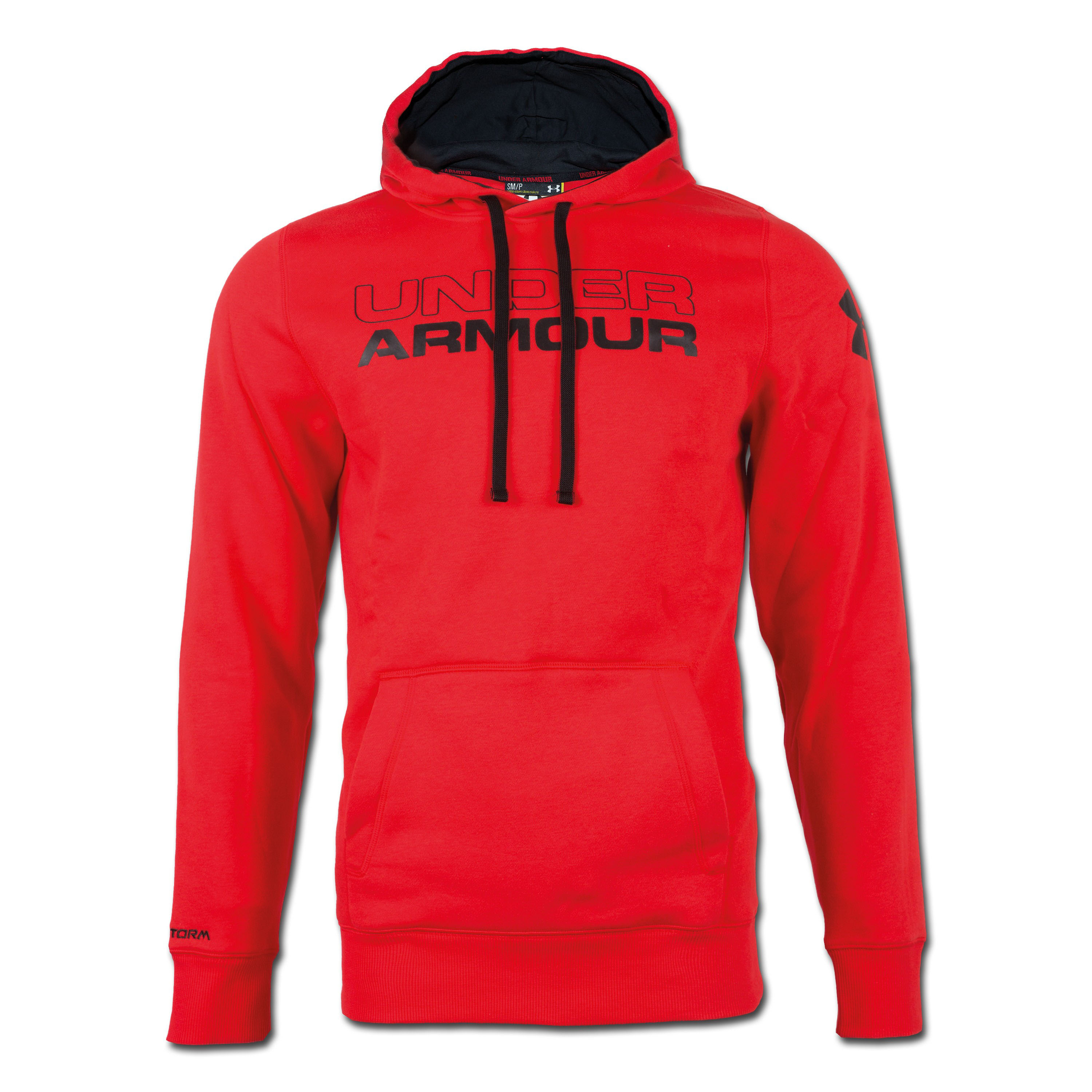 Under Armour Charged Cotton Storm Undisputed Hoody rot