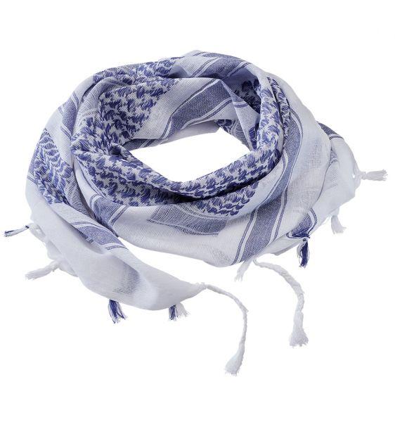Brandit Schal Shemag Scarf blau weiß