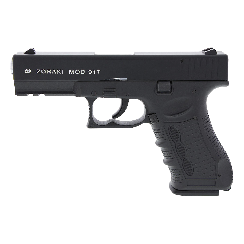 Pistole Zoraki 917 brüniert/chrom
