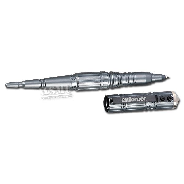 Enforcer Tactical Pen I mit Glasbrecher silber