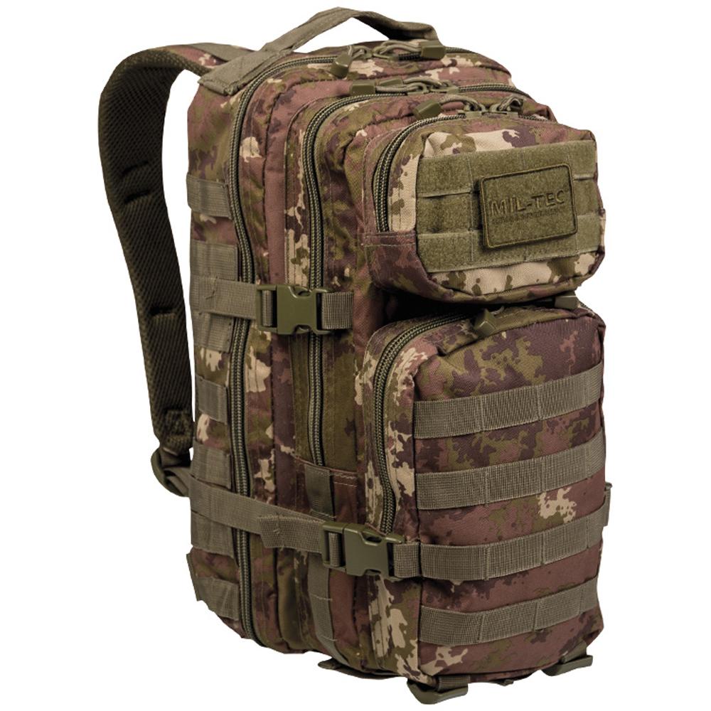Rucksack US Assault Pack vegetato