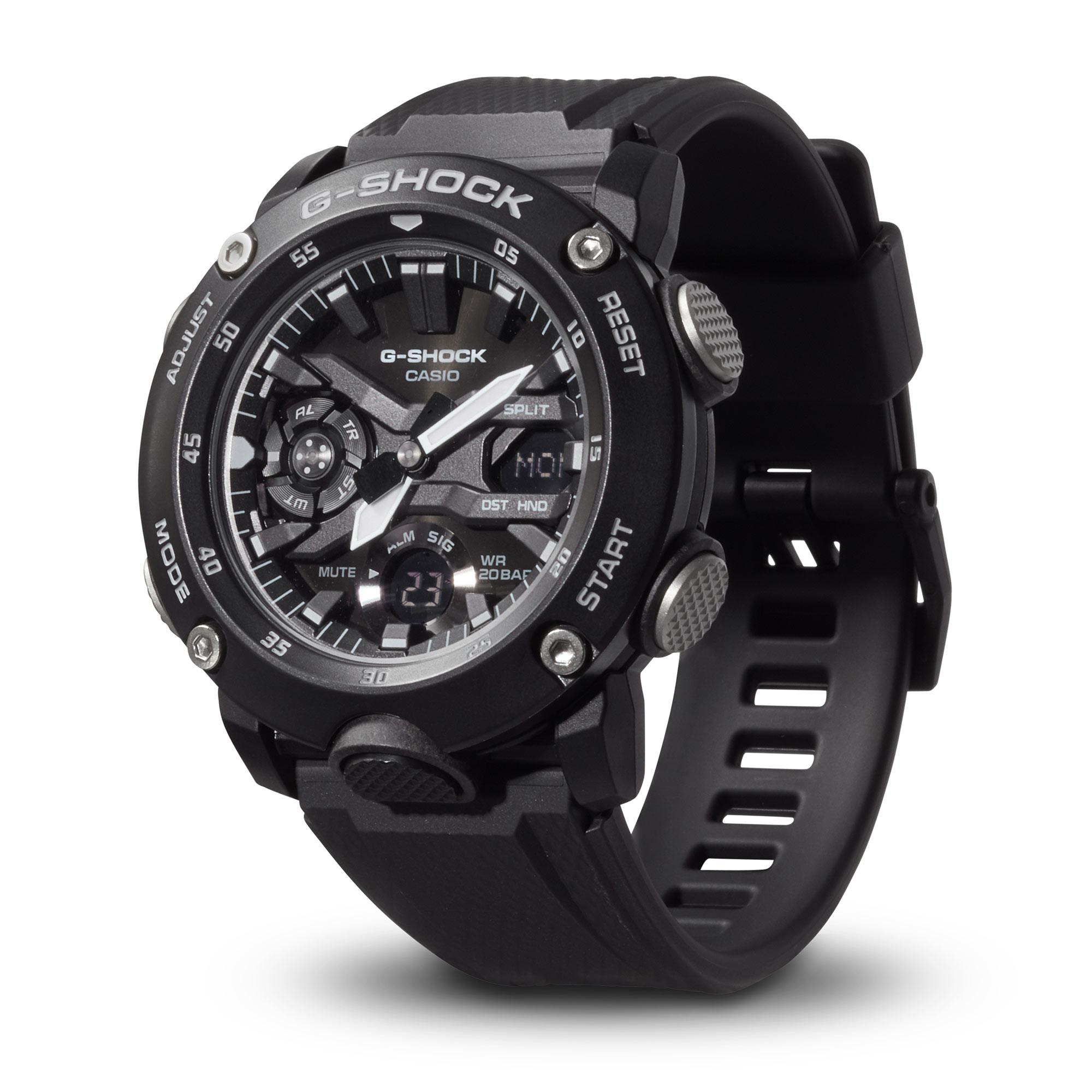 Casio Uhr G-Shock Classic GA-2000S-1AER schwarz