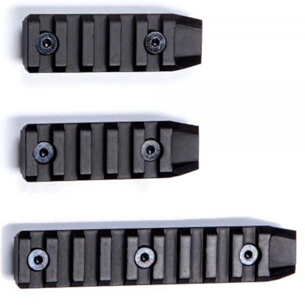 ASG Keymod Rail kurz 3er Set schwarz