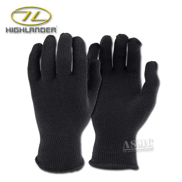 Thermo-Handschuhe Highlander schwarz