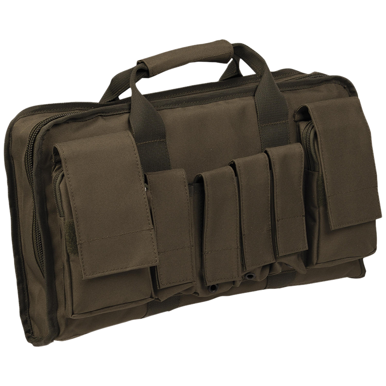 Tactical Pistolentasche groß oliv