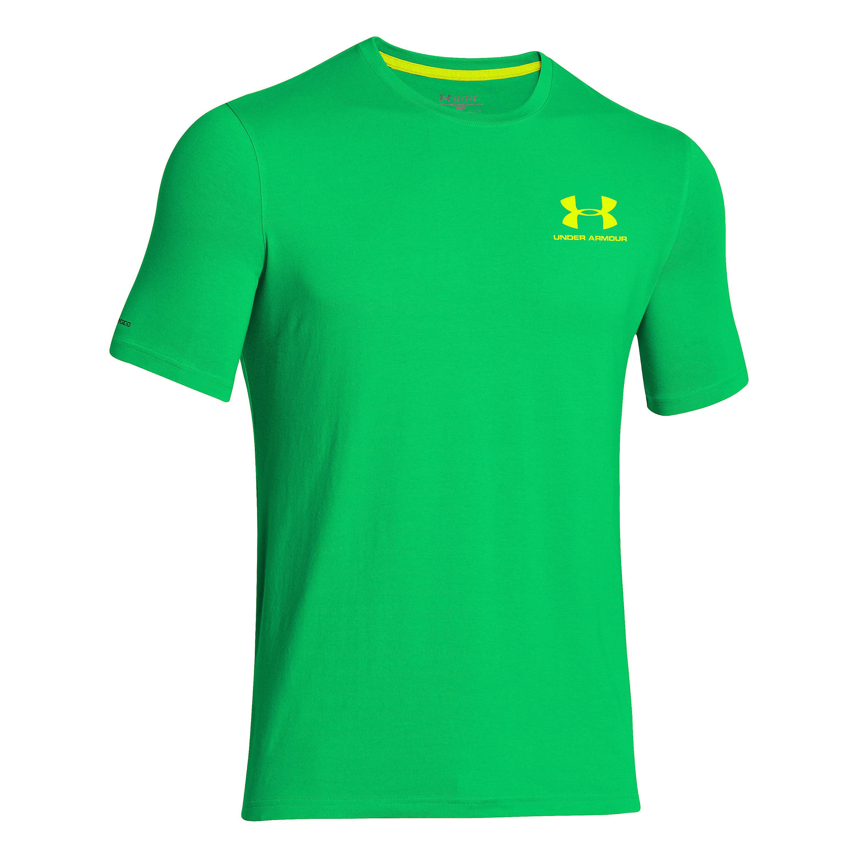 Under Armour Shirt CC Sportstyle grün