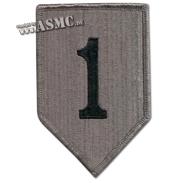Abzeichen US Textil 1st Infantry Div. ACU