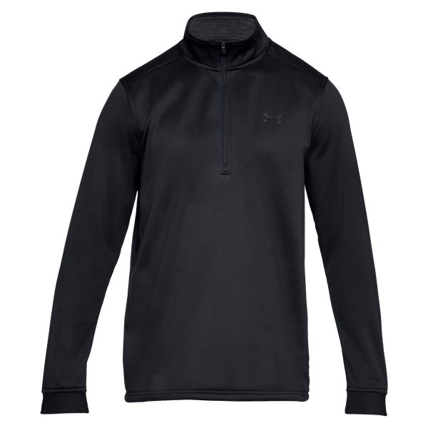 Under Armour Shirt Fleece 1/2 Zip schwarz