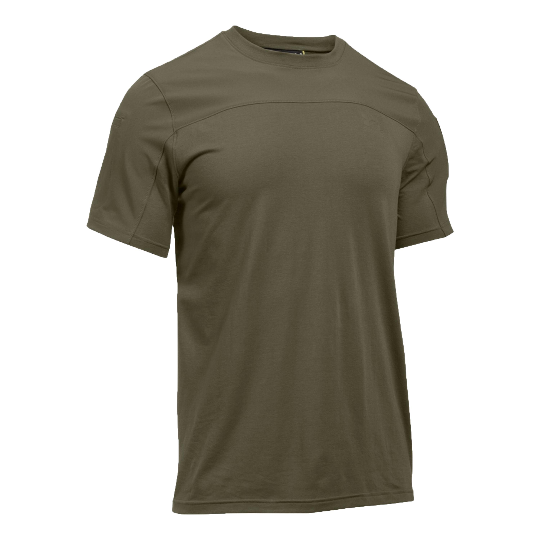 Under Armour T-Shirt Tac Combat Tee oliv