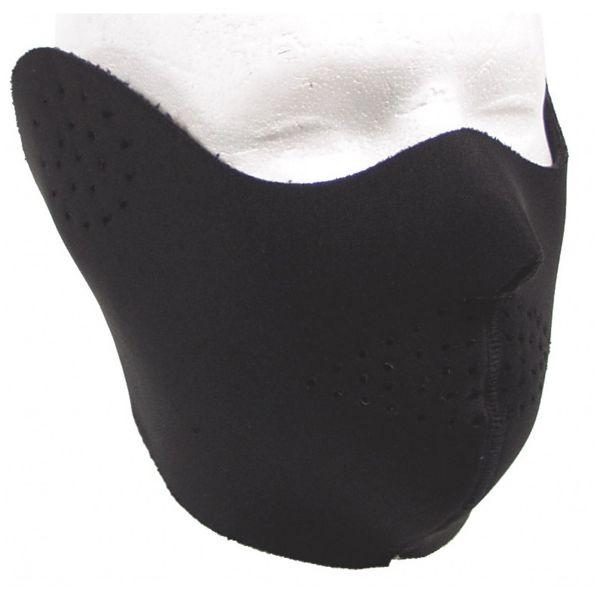Neopren Halb-Gesichtsschutz schwarz