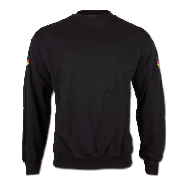 Sweatshirt Germany schwarz