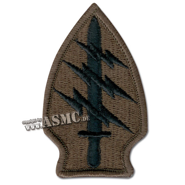 Abzeichen US Textil Special Forces subdued