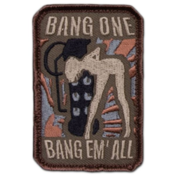 MilSpecMonkey Patch Bang One Bang Em All small forest