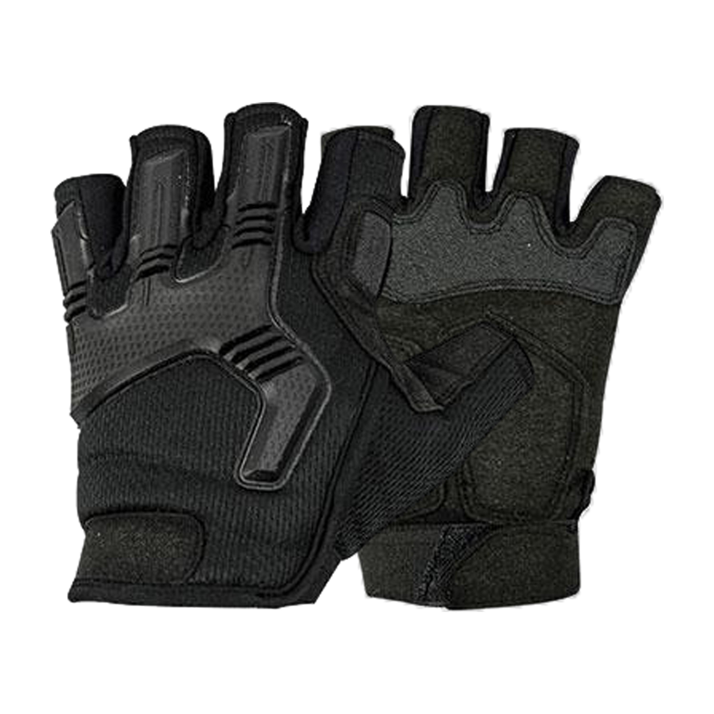 Highlander Handschuhe Halbfinger Raptor-FL schwarz