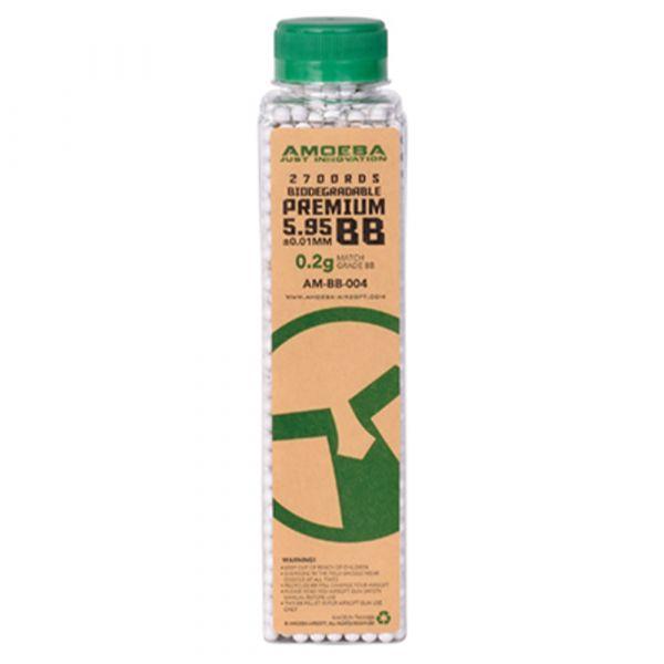 Ares Amoeba Premium Bio BBs 0.20 g 2700 Stück weiß