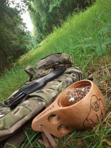 Tee im Wald