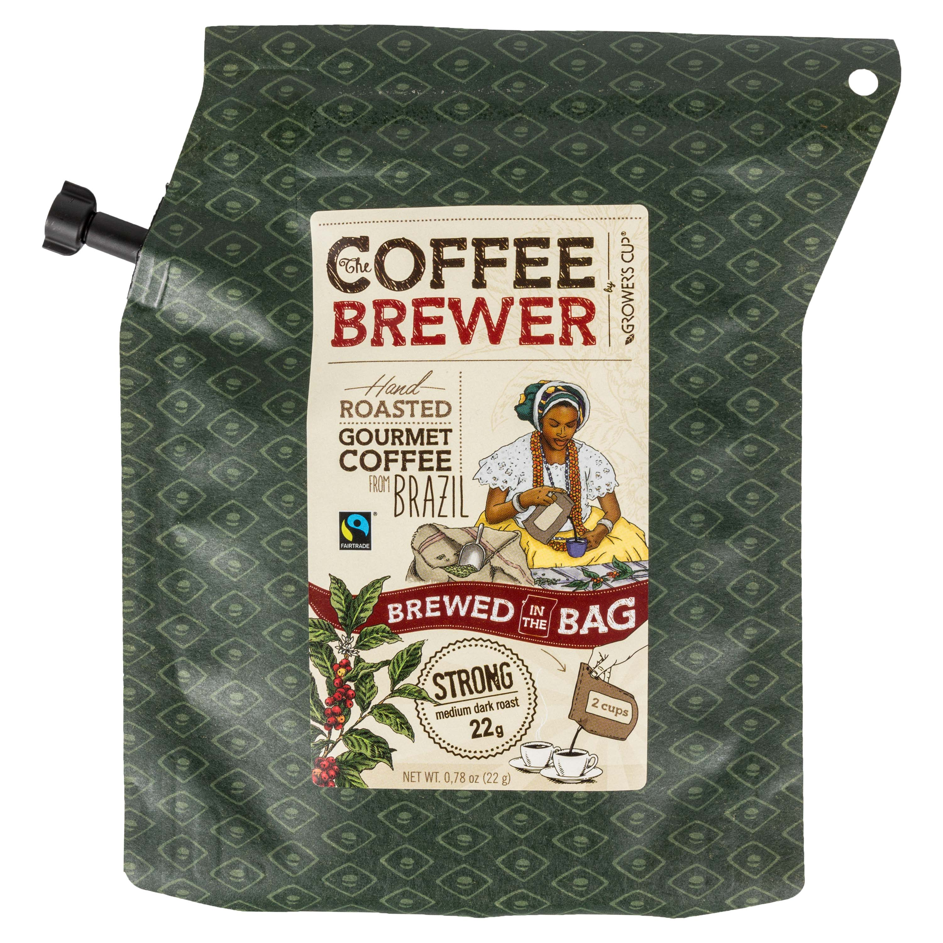 Growers Cup Outdoorkaffee Brazil 22 g