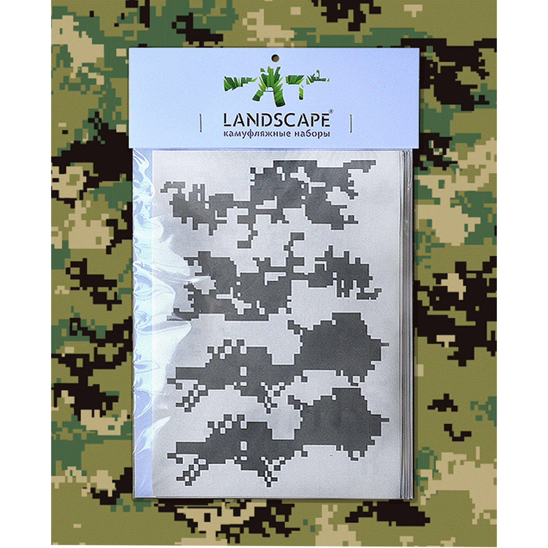Landscape Camo Schablone marpat