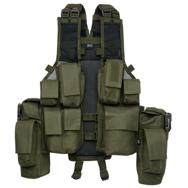 Brandit Weste Tactical Vest oliv