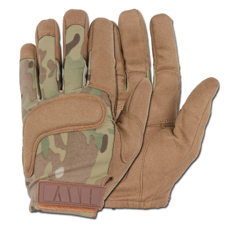 Einsatzhandschuhe HWI Combat Glove 500 multicam