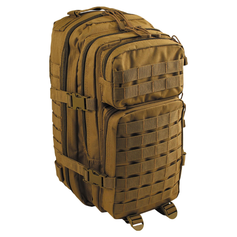 MFH Rucksack US Assault I Basic coyote tan