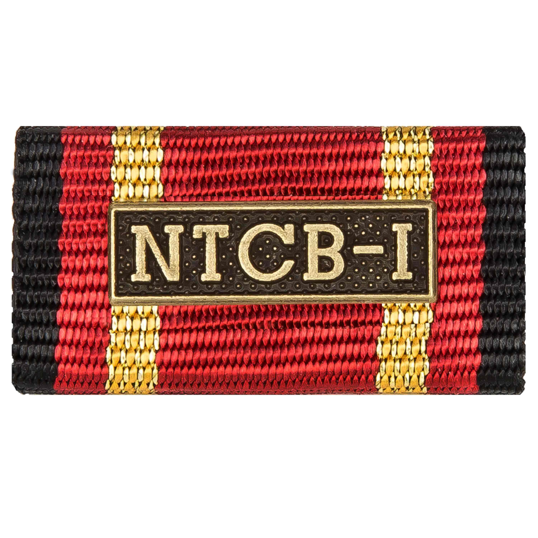 Ordensspange Auslandseinsatz NTCB I bronze