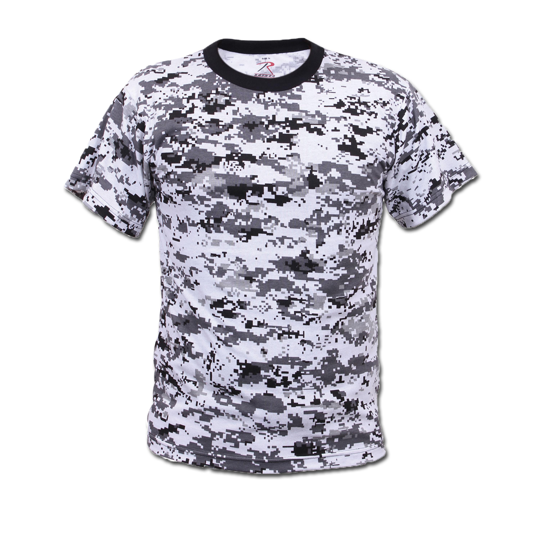 T-Shirt Rothco Digital Camo city
