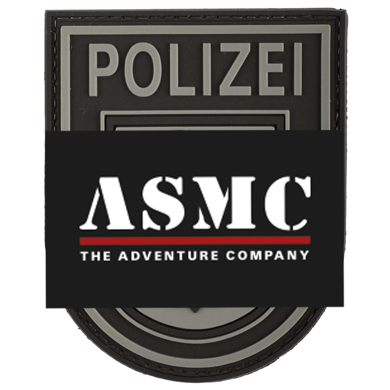 TAP 3D Patch Bundespolizei schwarz