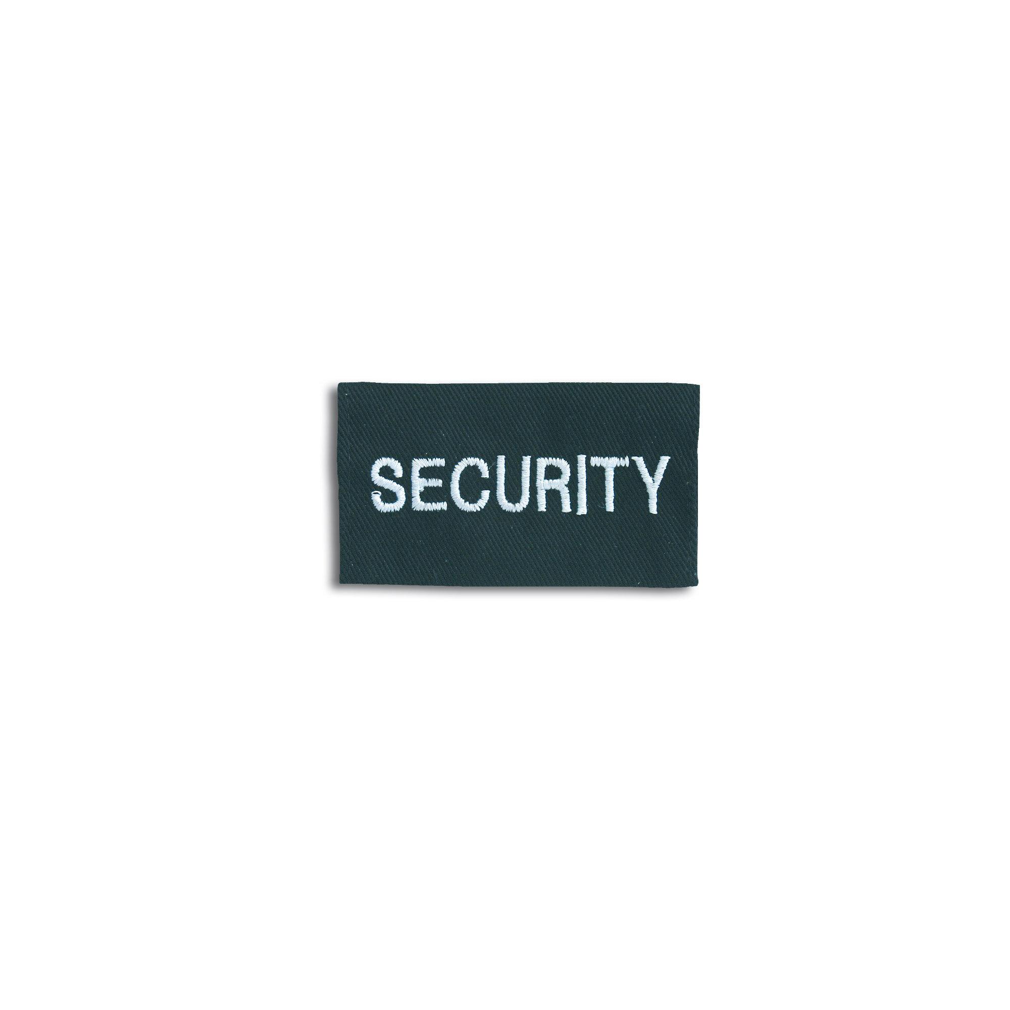 Rangabzeichen Security