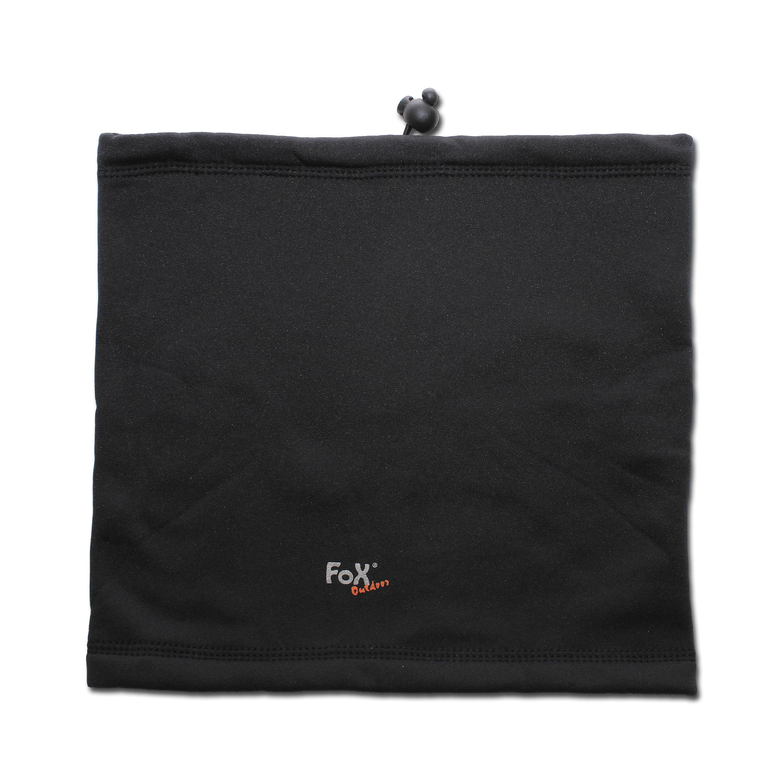 Rundschal Fox Outdoor Softshell schwarz