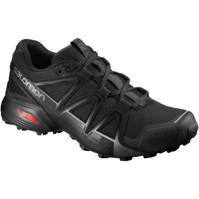 Salomon Schuh Speedcross Vario 2 schwarz silber